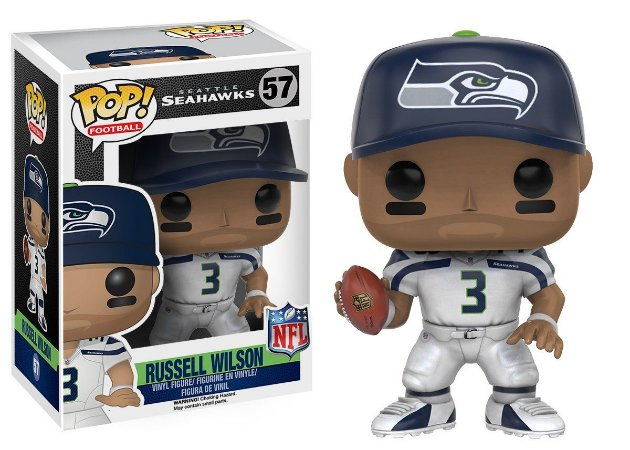 Funko Pop NFL Seattle Seahawks Russell Wilson Wave 3 #57