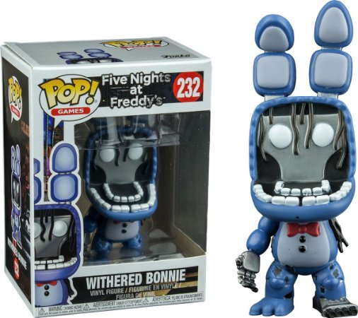 Funko Pop Five Nights At Freddys FNAF Withered Bonnie Exclusivo #232