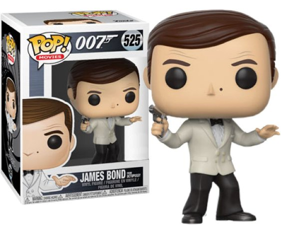 Funko Pop 007 James Bond From Octopussy Exclusivo #525