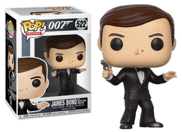 Funko Pop 007 James Bond Spy Who Loved Me #522