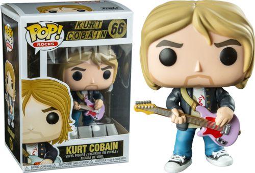 Funko Pop Nirvana Kurt Cobain Exclusivo #66