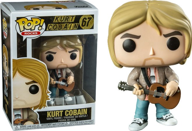 Funko Pop Nirvana Kurt Cobain MTV Unppluged Exclusivo #67
