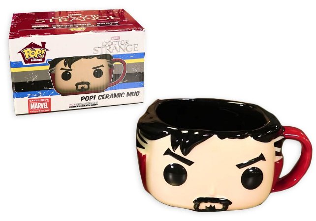 Funko Pop Home Ceramic Mug Doctor Strange Marvel Collection Corps