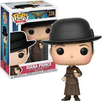 Funko Pop DC Mulher Maravilha Diana Prince Exclusiva #230