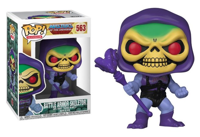 Funko Pop Masters Of Universe Battle Armor Skeletor Esqueleto #563