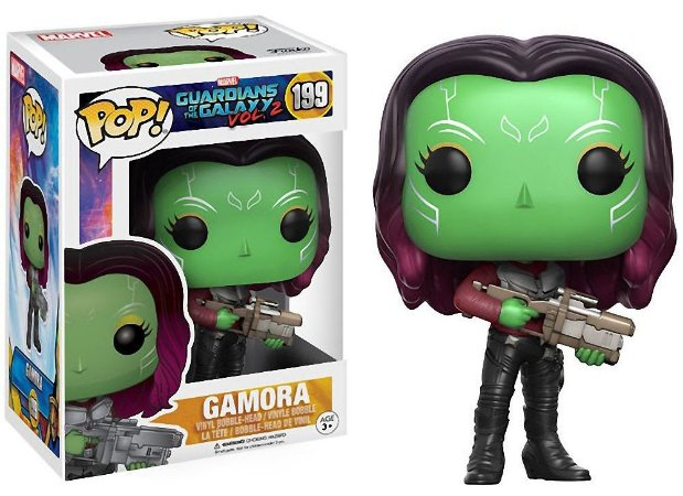 Funko Pop Marvel Guardiões da Galáxia Gamora #199