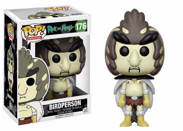Funko Pop Rick and Morty Birdperson #176