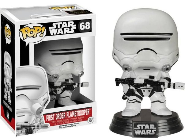 Funko Pop Star Wars First Order Flametrooper #68