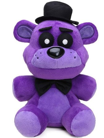 Pelúcia Five Nights At Freddys FNAF Purple Freddy