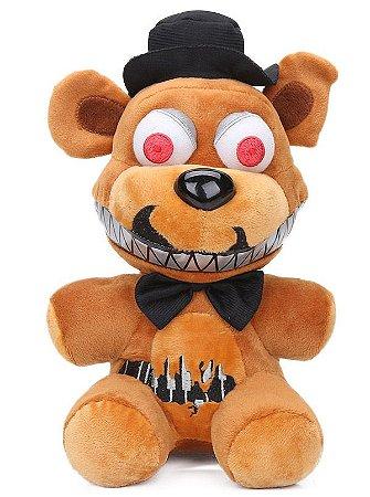 Pelúcia Five Nights At Freddys FNAF Nightmare Freddy