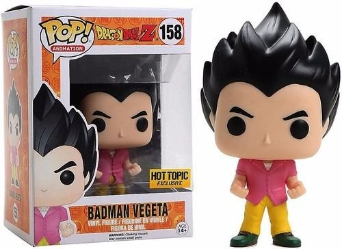 Funko Pop Dragon Ball Z Badman Vegeta Exclusivo #158