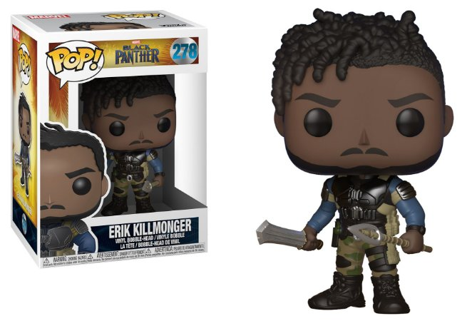 Funko Pop Marvel Black Panther Erik Killmonger #278