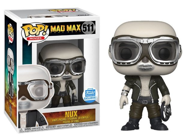 Funko Pop Mad Max Fury Road Nux Exclusivo #511