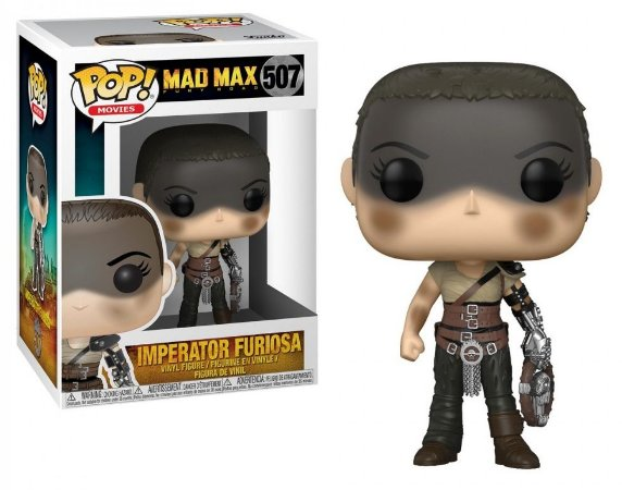 Funko Pop Mad Max Fury Road Imperator Furiosa #507