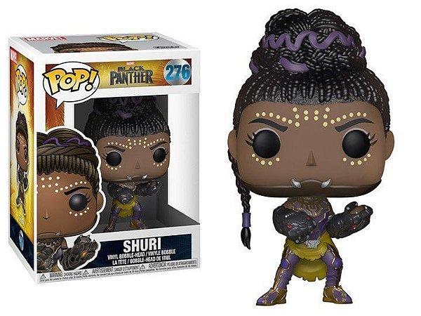 Funko Pop Marvel Pantera Negra Black Panther Shuri #276