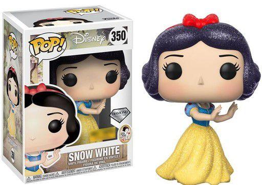 Funko Pop Disney Branca de Neve Snow White Diamond Glitter Exclusiva #350