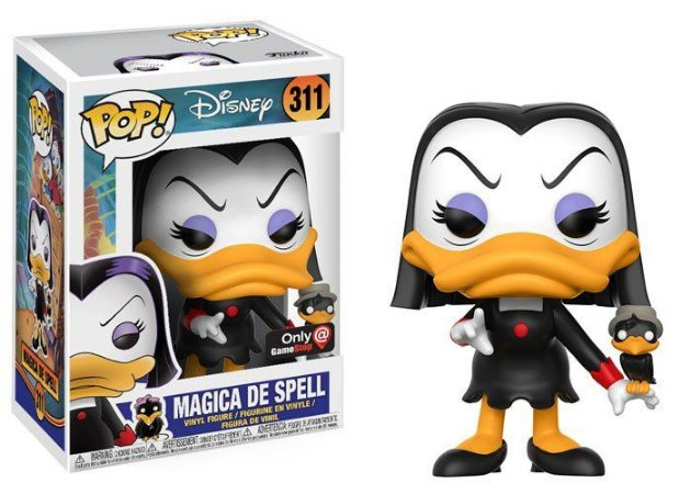 Funko Pop Disney Magica De Spell Maga Patalótica Exclusiva #311