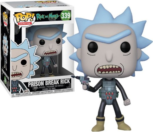 Funko Pop Rick and Morty Prison Break Rick #339