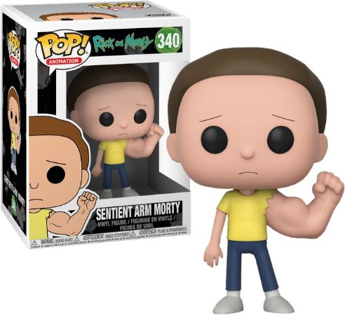 Funko Pop Rick and Morty Sentient Arm Morty #340