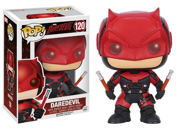 Funko Pop Marvel Daredevil Red Suit #120