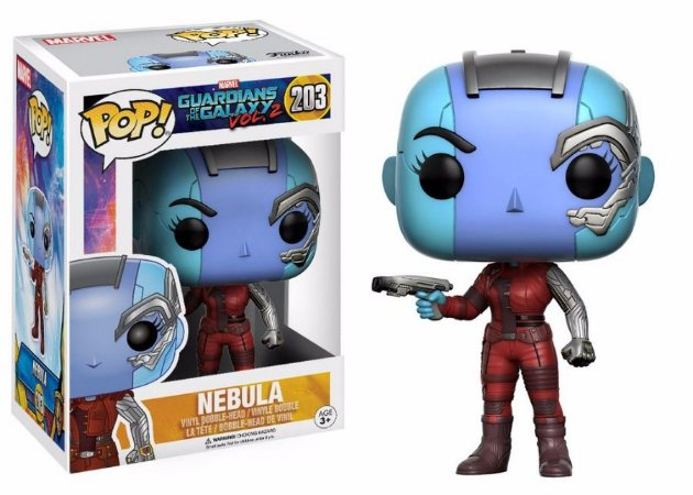 Funko Pop Marvel Guardiões da Galáxia Vol 2 Nebula #203