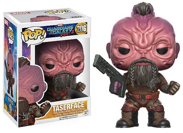 Funko Pop Marvel Guardiões da Galáxia Vol 2 Taserface #206