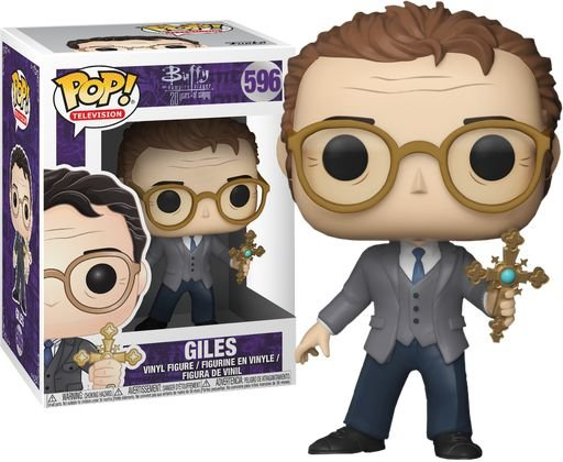 Funko Pop Buffy The Vampire Slayer Giles #596