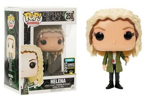 Funko Pop Orphan Black Helena Exclusiva Sdcc #258
