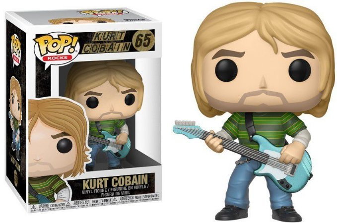 Funko Pop Kurt Cobain #65