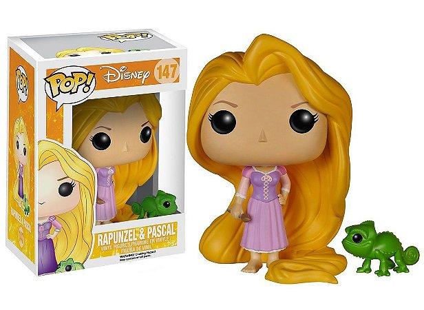 Funko Pop Disney Rapunzel e Pascal #147