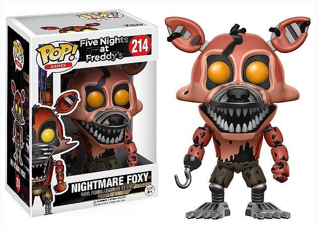 Funko Pop Five Nights At Freddy FNAF Nightmare Foxy #214