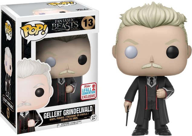 Funko Pop Animais Fantasticos Grindewald Exclusivo Nycc #13