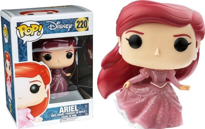 Funko Pop Disney Ariel Glitter Exclusiva #220
