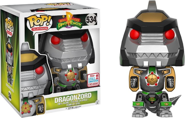 Funko Pop Power Rangers Dragonzord Exclusivo #534