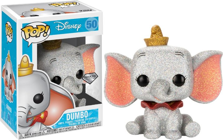 Funko Pop Disney Dumbo Diamond Glitter Exclusivo #50