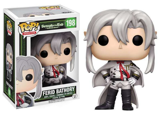 Funko Pop Seraph Of The End Ferid Bathory #198