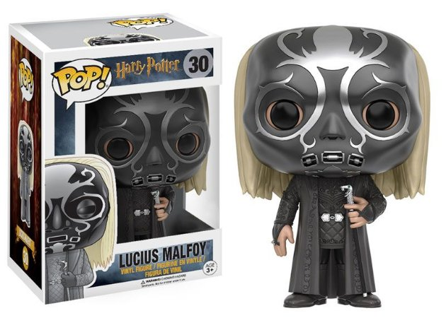 Funko Pop Harry Potter Lucius Malfoy Máscara Exclusivo #30