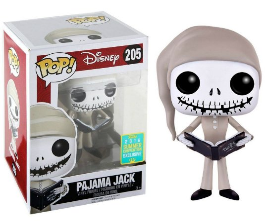 Funko Pop Disney O Estranho Mundo de Jack Pajama Jack Exclusivo SDCC 16 #205