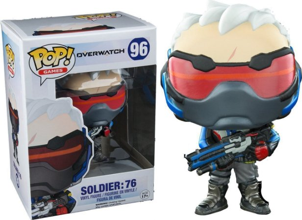 Funko Pop Soldier 76 Overwatch Exclusivo #96
