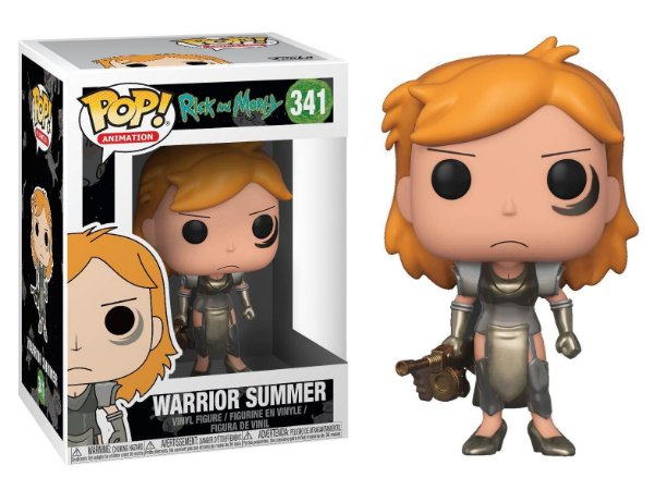 Funko Pop Rick and Morty Warrior Summer #341
