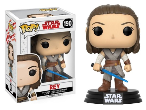 Funko Pop Star Wars Rey #190