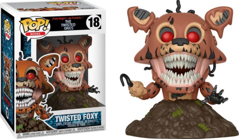 Funko Pop Five Nights At Freddys Twisted FNAF Foxy #18