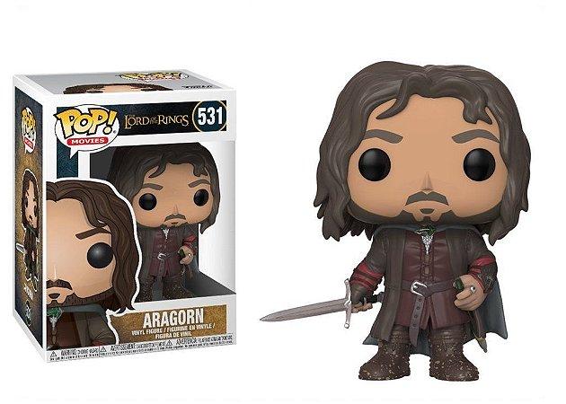 Funko Pop Senhor dos Anéis Aragorn #531