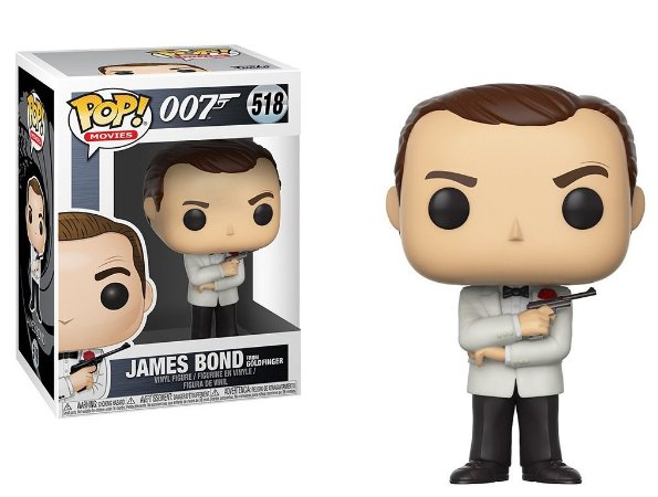 Funko Pop 007 James Bond Sean Connery White Tux #51