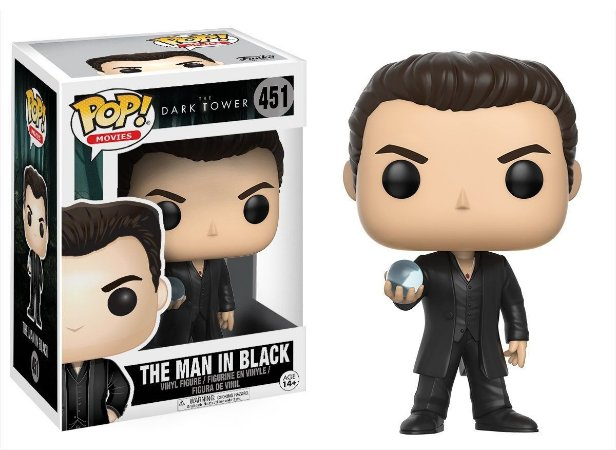 Funko Pop Torre Negra Dark Tower Man in Black #451