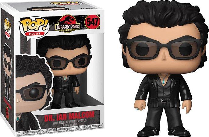 Funko Pop Jurassic Park Dr Ian Malcolm #547