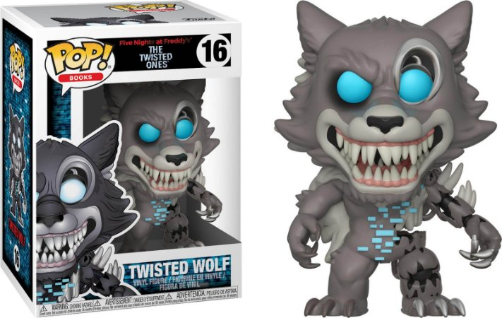 Funko Pop Five Nights At Freddys FNAF Twisted Wolf #16