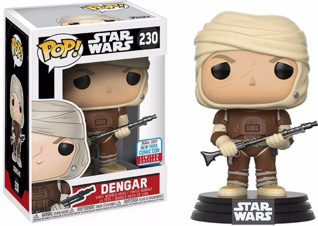 Funko Pop Star Wars Dengar Exclusivo Nycc #230