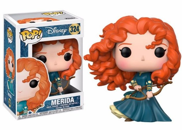 Funko Pop Disney Valente Brave Merida #324