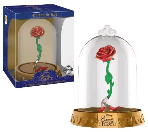 Funko Pop Disney A Bela e a Fera Dome Enchanted Rose Exclusiva